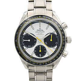 Omega Speedmaster Racing Steel 40mm White Dial Mens Watch 326.30.40.50.04.001