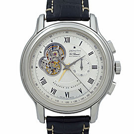 Zenith Chronomaster XXT Steel Silver Dial Mens Watch 03.1260.4021/02.C505