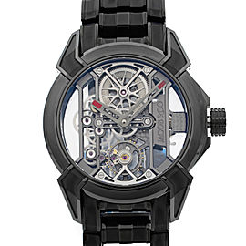 Jacob & Co. Epic X Black Titanium Hand-Wind Mens Watch EX100.20.PS.PP.A20AA
