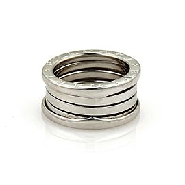 Bvlgari Bulgari B Zero-1 18k Gold 10mm Wide Band Ring Size EU 51 - US 5