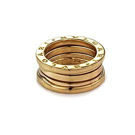 Bvlgari Bulgari B Zero1 18k Yellow Gold 8mm Wide Band Ring Size 47-US 3.75