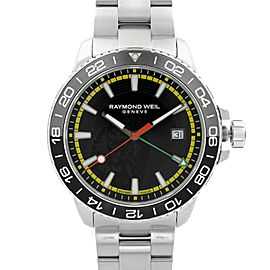 Raymond Weil Tango Bob Marley Edition Steel Black Dial Mens Watch 8280-ST1-BMY18
