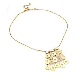 Bvlgari Bulgari LUCEA 18k Yellow Gold Multi-Dangle Pendant & Chain Necklace
