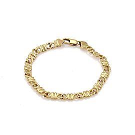 Tiffany & Co. 18k Yellow Gold Fancy Link Bracelet
