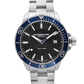 Raymond Weil Tango 300m Steel Black Dial Quartz Mens Watch 8260-ST3-20001