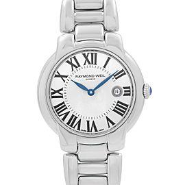 Raymond Weil Jasmine 29mm Steel Silver Dial Quartz Ladies Watch 5229-ST-01659