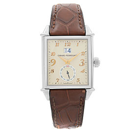 Girard Perregaux Vintage 1945 Steel Automatic Mens Watch 25805-11-822-BAEA