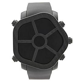 Jacob & Co. Ghost 5 Time Zone Carbon Bezel Black PVD Watch GH100.11.NS.MB.AHA4D