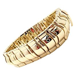 Piaget 18k Yellow Gold Classic Thick Limited Edition 1990 Bracelet