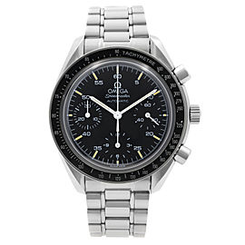 Omega Speedmaster Reduced 39mm Chronograph Steel Black Dial Men Watch 3510.50.00