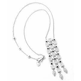 Bvlgari Bulgari 18k White Gold Lucea Diamond Pendant Necklace
