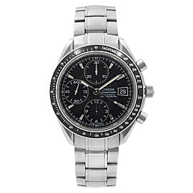 Omega Speedmaster Chrono Date Steel Black Dial Automatic Mens Watch 3210.50.00