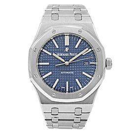 Audemars Piguet Royal Oak Steel Blue Dial Mens Watch 15400ST.OO.1220ST.03