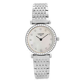 Longines La Grande Classique Steel MOP Dial Quartz Ladies Watch L4.241.0.80.6
