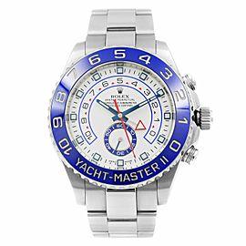 Rolex Yacht -Master II White Dial Command Bezel Steel Automatic Men Watch 116680
