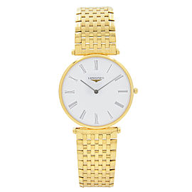 Longines La Grande Classique Gold-Tone White Dial Quartz Watch L4.755.2.11.8
