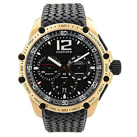 Chopard Classic Racing Limited Edition 18K Gold Black Dial Men Watch 161276-5001