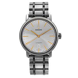 Rado DiaMaster XL High-Tech Ceramic Silver Dial Automatic Mens Watch R14074102