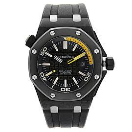 Audemars Piguet Royal Oak Offshore Diver Carbon Mens Watch 15706AU.OO.A002CA.01