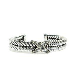 David Yurman Silver Ice Sterling Silver Diamond Bracelet