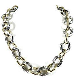 David Yurman Chain Sterling Silver Necklace