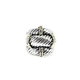 David Yurman Thoroughbred Sterling Silver Ring