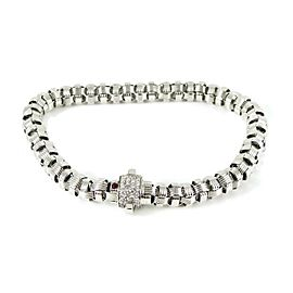 Roberto Coin Appassionata 18k White Gold Diamond Bracelet