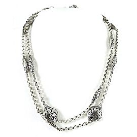 Konstantino Chain Sterling Silver Necklace