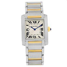 Cartier Tank Francaise W2TA0003 25.0mm Womens Watch