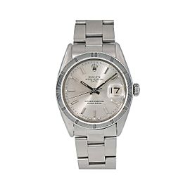 Rolex Oyster Perpetual Date 1501 34mm Womens Watch