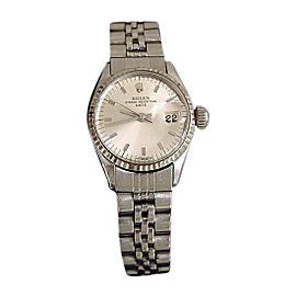 Rolex Date 6517 26mm Vintage Womens Watch