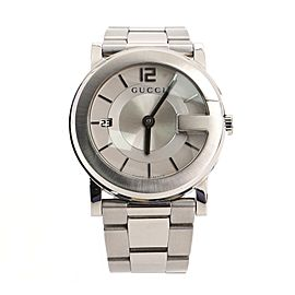 Gucci 101J Quartz Watch Stainless Steel 36