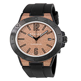 Bulgari Diagono Magnesium Automatic Date Mens Watch DG41C11SMCVD