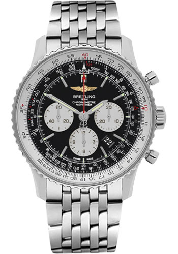 Breitling Navitimer Ab012721 Bd09ss Stainless Steel 46mm Mens Watch At Truefacet