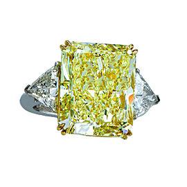 Platinum with 14.20ct Diamond Engagement Ring Size 6
