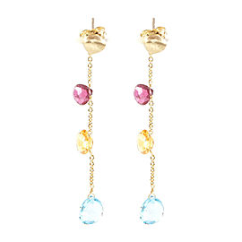 Marco Bicego Aruba 18K Yellow Gold Drop Dangle Earrings