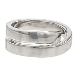 Cartier Paris Nouvelle Vague Crossover Ring 18K White Gold Size 4.75