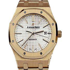 Audemars Piguet 15400OR.OO.1220OR.02 Royal Oak 18K Rose Gold 41mm Unisex Watch