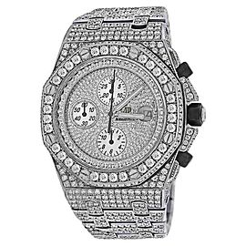 Audemars Piguet Royal Oak Offshore Stainless Steel Diamond Dial 42 mm Watch