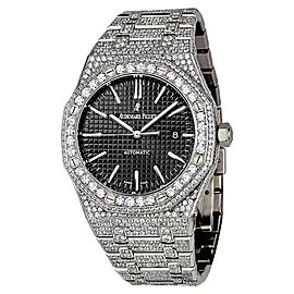 Audemars Piguet Royal Oak 15400ST.OO.1220ST.01 Stainless Steel with Diamonds 41mm Mens Watch