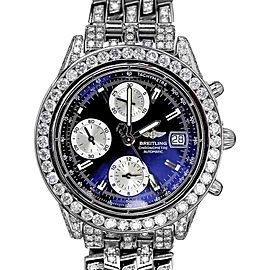 Breitling Super Avenger A13352 Stainless Steel 40mm Unisex Watch