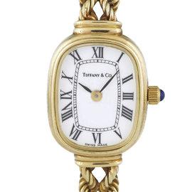 Tiffany & Co. 14K Yellow Gold Quartz 16mm Womens Vintage Watch