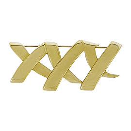 Tiffany & Co. 18K Yellow Gold Paloma Picasso XXX Brooch / Pin