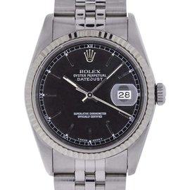 Rolex Datejust 16234 Stainless Steel / 18K White Gold 36mm Unisex Watch