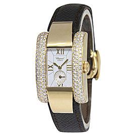 Chopard La Strada 41/6823 18K Yellow Gold Diamond 23mm Womens Watch