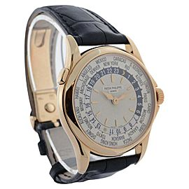 Patek Philippe World Time 5110R-001 18K Rose Gold Automatic 37mm Mens Watch