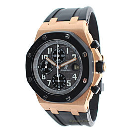 Audemars Piguet Royal Oak Offshore 25940OK 18K Rose Gold Automatic 43mm Mens Watch