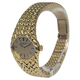Audemars Piguet Dress Watch 18K Yellow Gold Manual Vintage 25mm Womens Watch