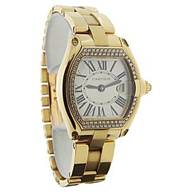 Cartier Roadster 2676 18K Yellow Gold & Diamonds Quartz 30mm Womens Watch