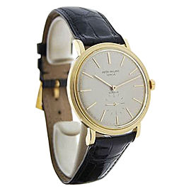 Patek Philippe Gubelin 3429 18K Yellow Gold Automatic Vintage 35mm Mens Watch